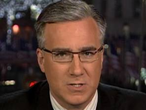 Olbermann, pissed.